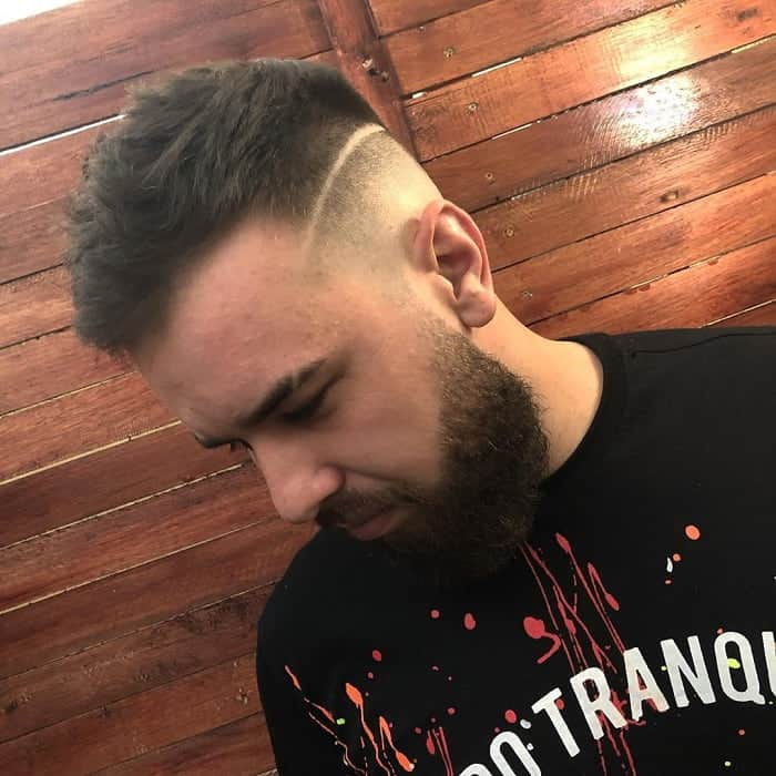 Skin Fade with Line