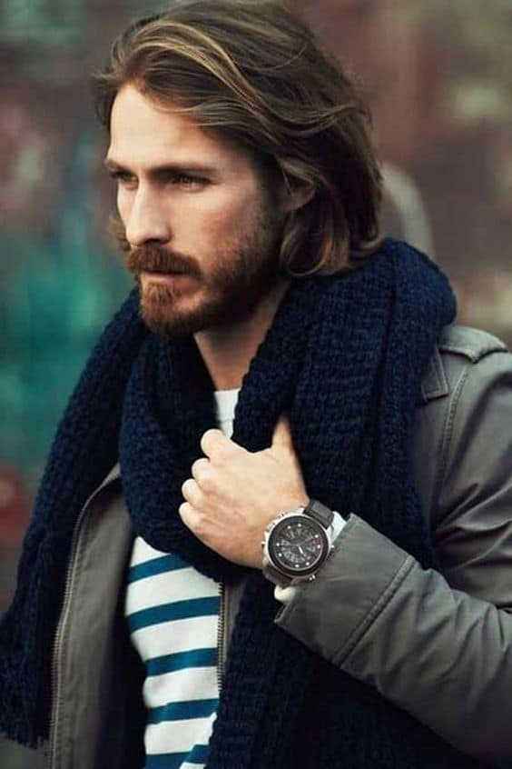 Tips for long hair male celebrity
