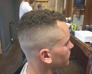 high tight military haircut