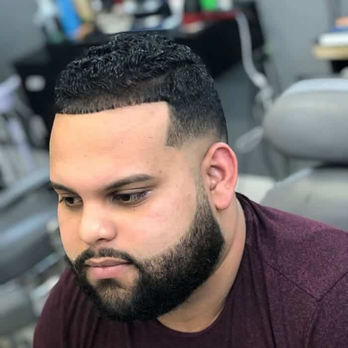 Faded Line Up Haircut