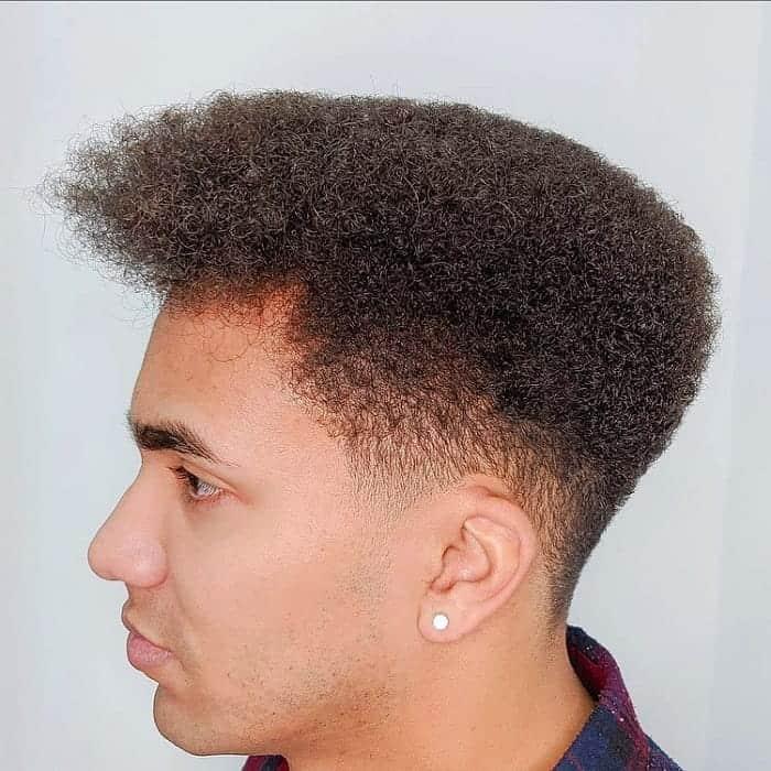 Short Afro for Men