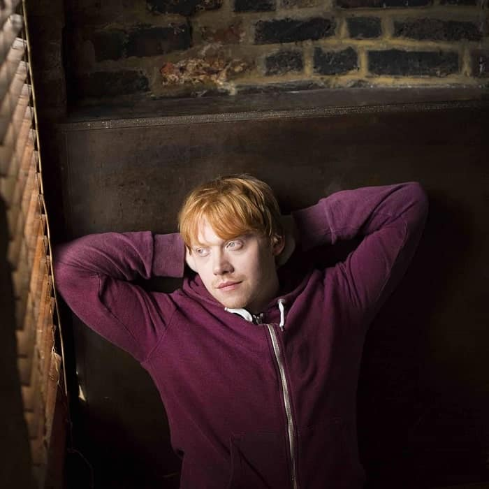 Red Haired British Actor