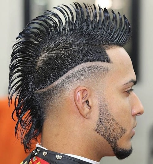 Some Guys Tend To Get An Extreme Hairstyle Which Will Talk For Itself. The  Edges Will Be Very Sharper And The Lines Will Be Distinctive In This Style.
