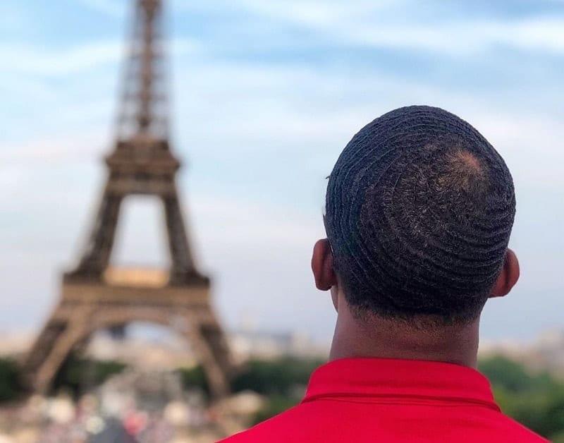 African American 360 Hair Waves