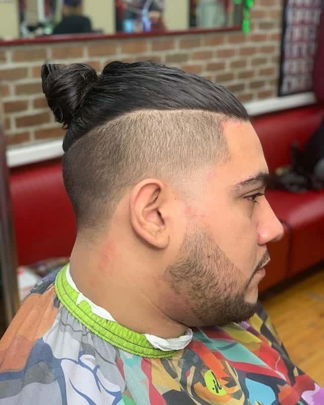 Slick Back Undercut for Long Hair