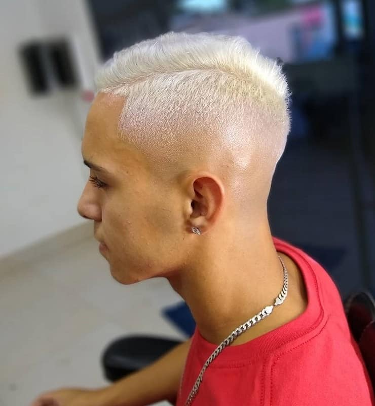 Mid Tapered Bald Fade
