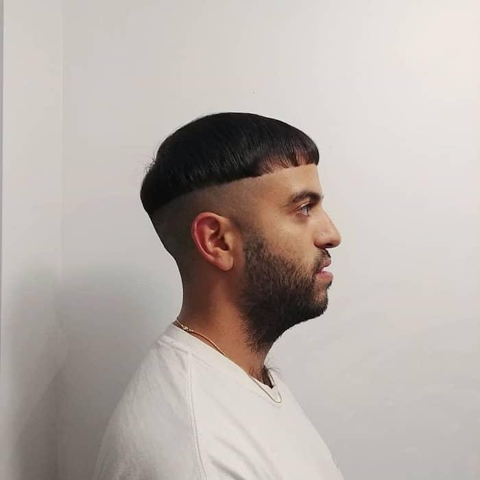 Mushroom Fade Haircut