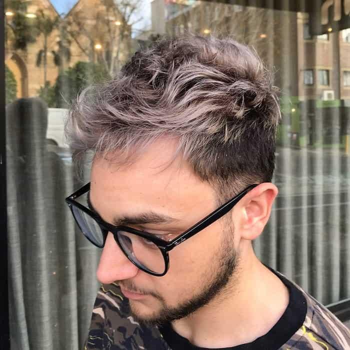 Short Wavy Hair With Highlights