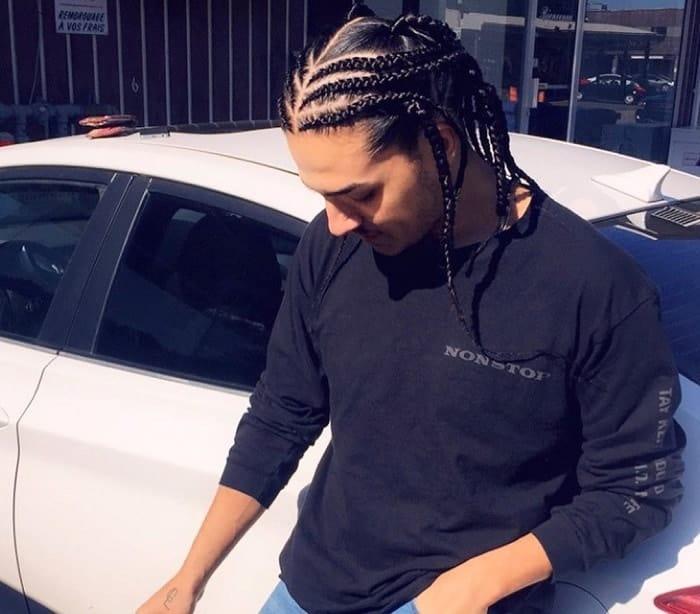 long man braids