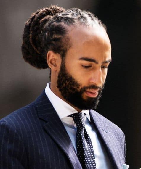 Black Man Bun: 20 Hairstyles to Get Inspiration – Cool Men\'s ...