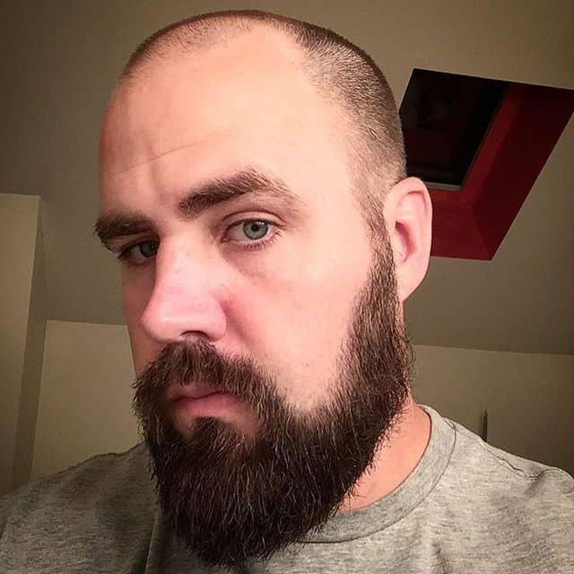 Buzz Cuts with beard