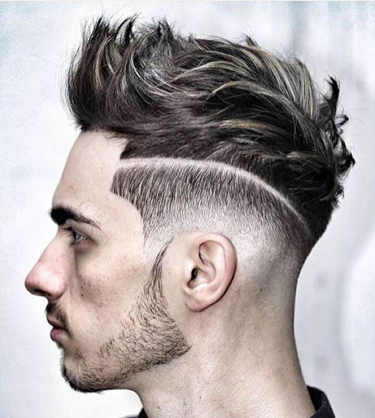 fade fawk hawk hairstyle you like