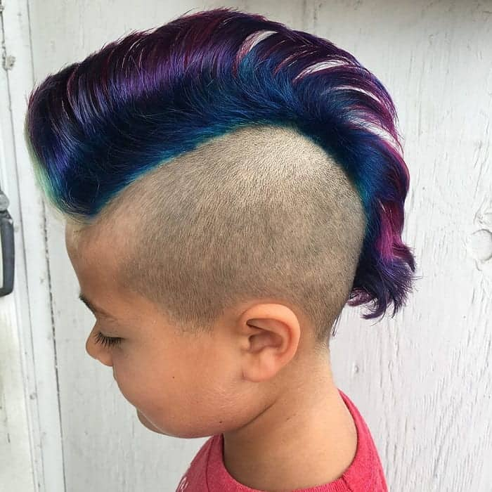 Cool Mohawk for 4 Year Old Boys