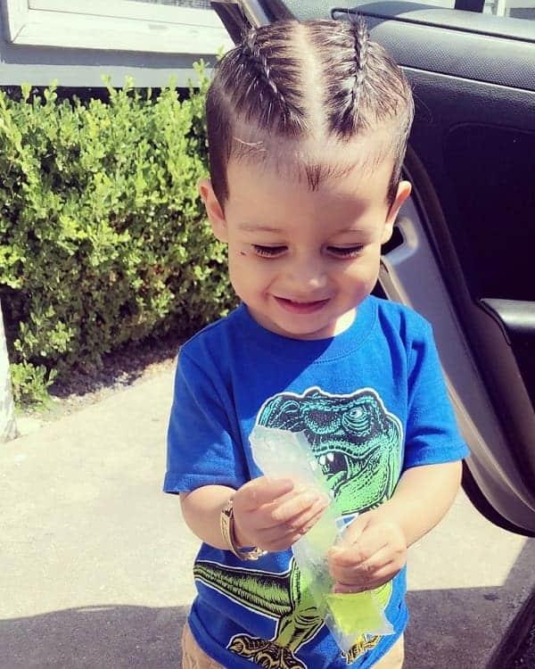 Toddler Boy Braids