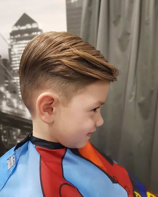 5 year old boy side swept haircuts
