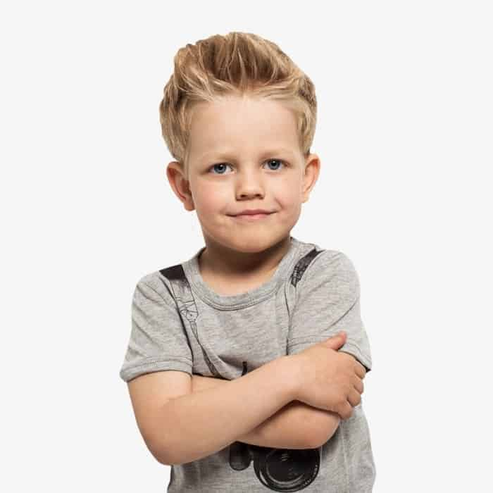 messy hairstyles for 5 year old boy