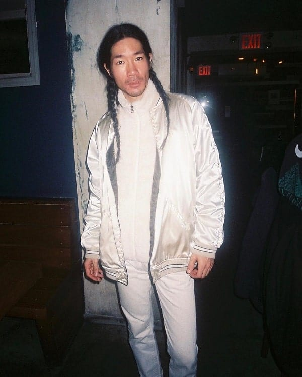 Asian Long Man Braids