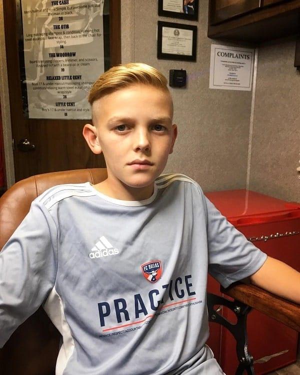 Bald Fade Haircut For Boys