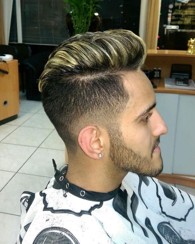 Dirty Blonde Highlights for Men