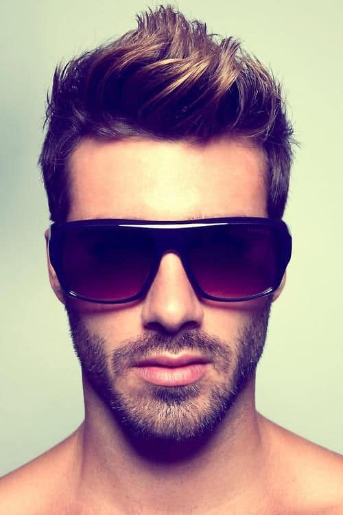 Classic Fohawk hairstyle for men