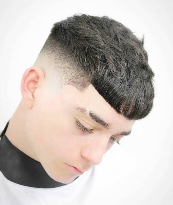 Boys fade haircut
