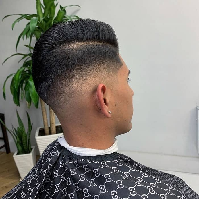 Burst Fade with Part