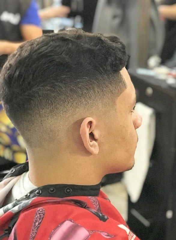 Medium Low Taper Fade