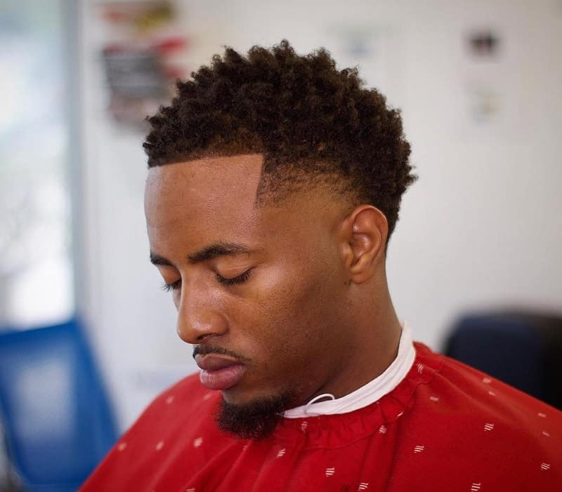 Medium Taper Fade for Black Men