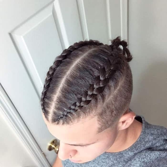 Dutch Man Braids