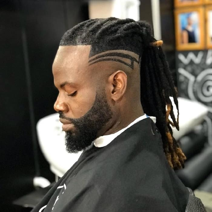 Dreaded Afro Hairstyle for Men