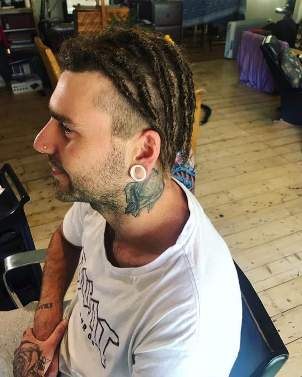Short Dreadlocks with Undercut