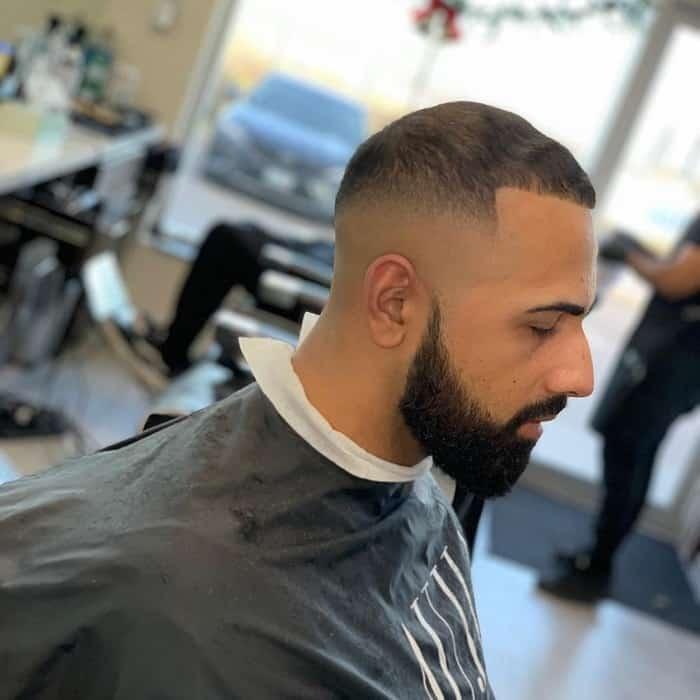 Bald Fade And Beard