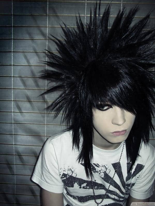 emo favorite punk hairstyle