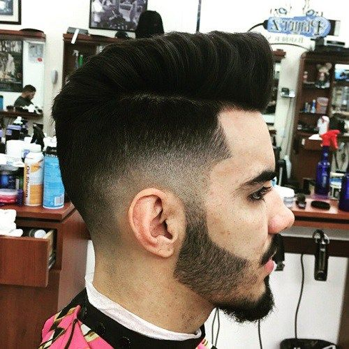ndercut Faux Hawk hairstyle for men