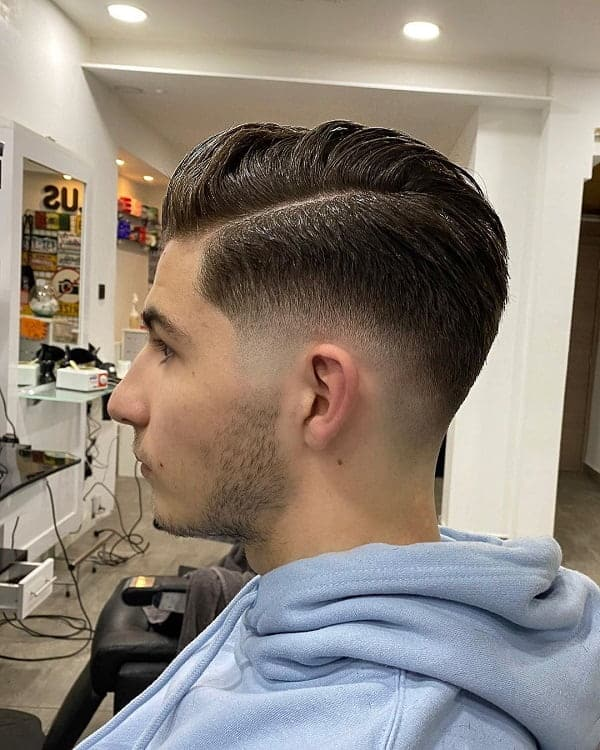 Fresh Parted Hairstyle