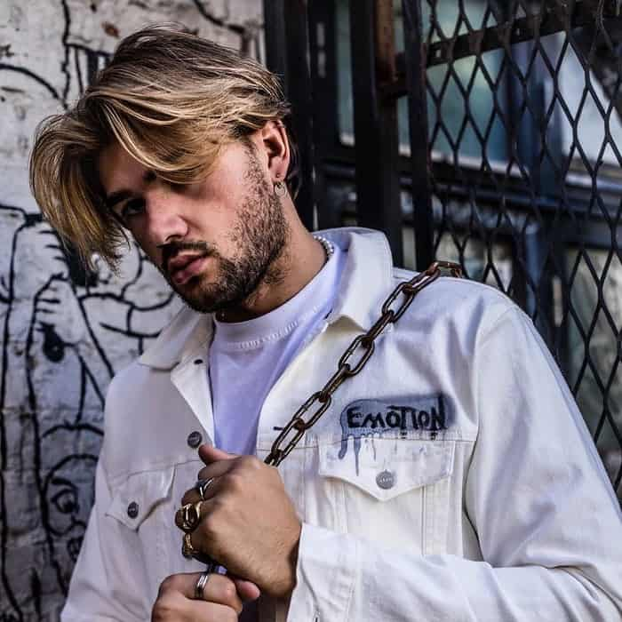 90s Men With Blonde Highlights