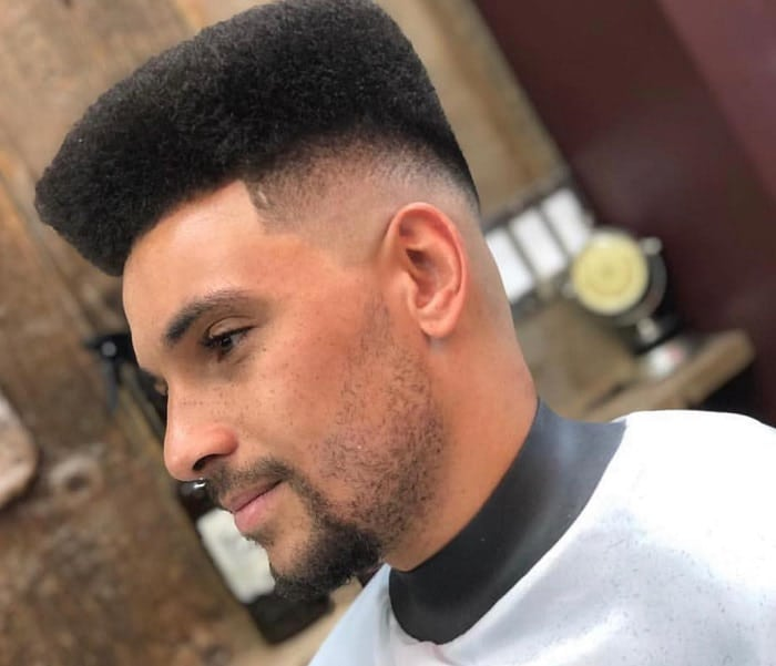 90s Flat Top Hairstyle