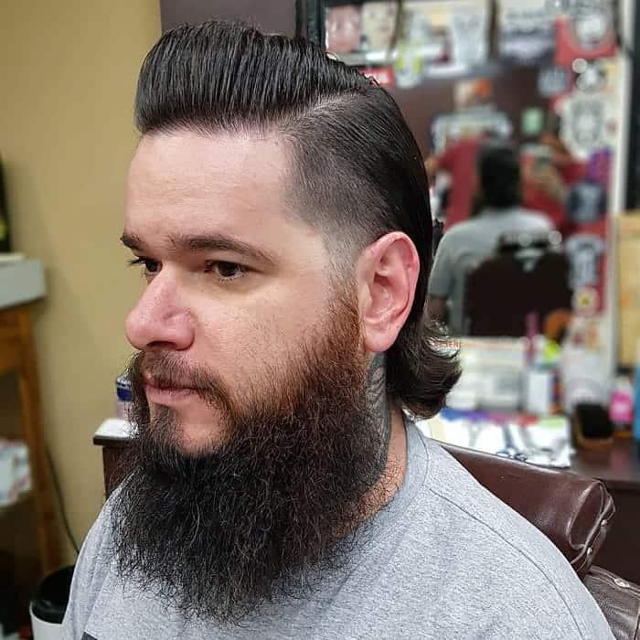 90s Slick Back Hair for Men