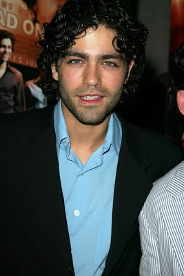 Adrian Grenier curly hairstyle