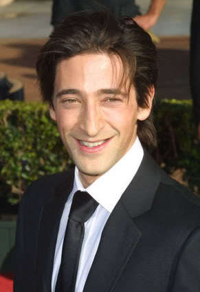 Adrien Brody hairstyle