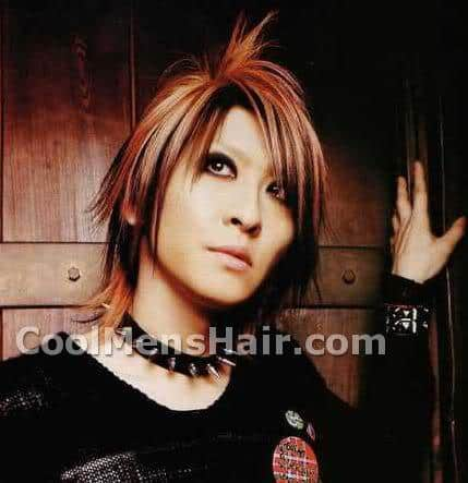 Image of Aiji spiky hair.