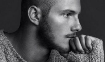 Alexander Ludwig Undercut Ponytail Hairstyle
