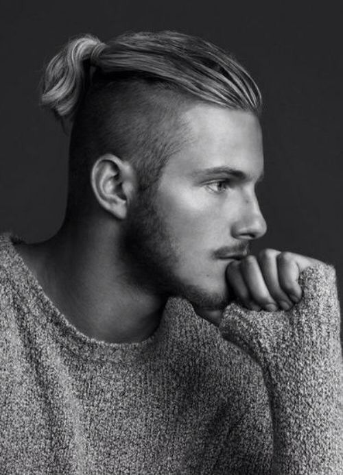 Alexander Ludwig Undercut Ponytail Hairstyle Cool Men S Hair