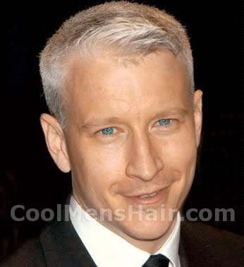Celebrity Hairstyle Anderson Cooper Ivy League s Hair