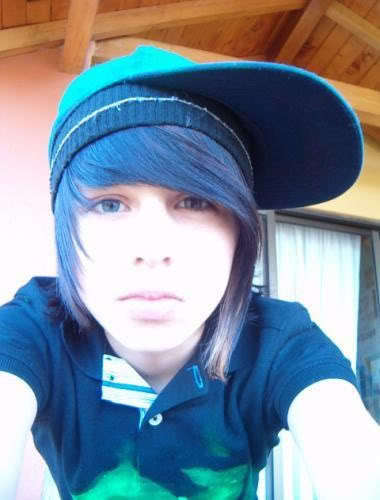 Photo of Andres Gorgeous emo hair.