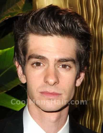 Photo/image of Andrew Garfield hairstyle.
