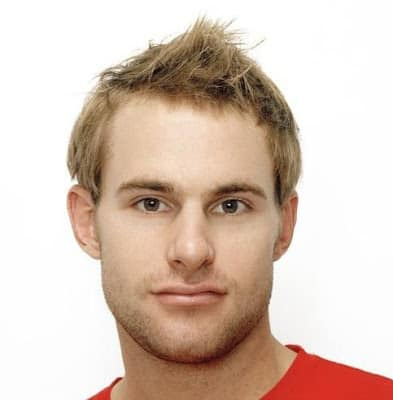 Andy Roddick's Faux Hawk hairstyle