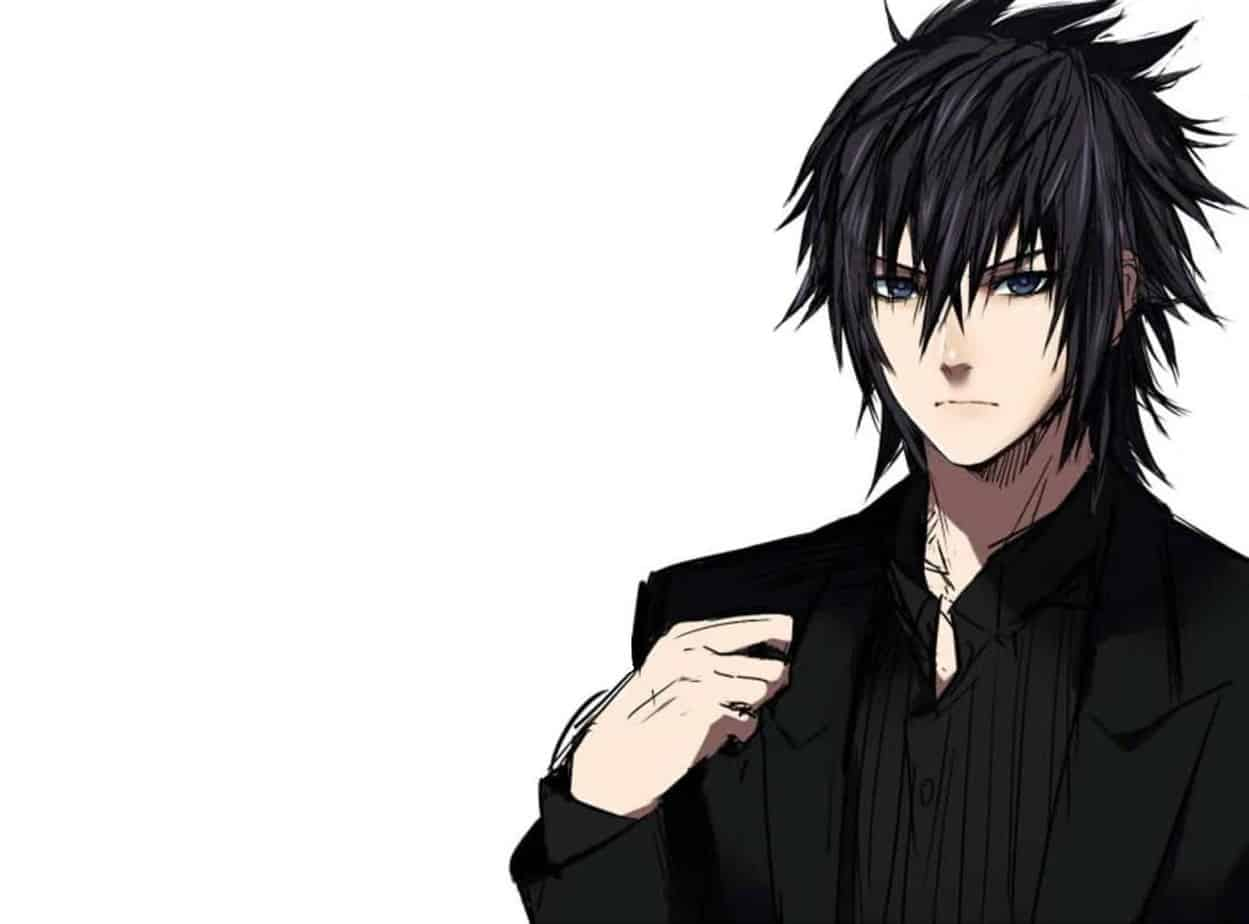 Anime Guys black hairstyle