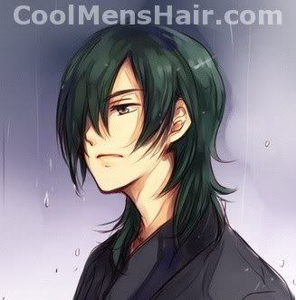 Anime Guys With Cool Black Hair Cool Men S Hair