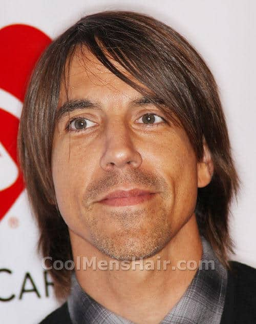 Anthony Kiedis razor cut hairstyle photo.